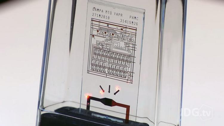 Самоуничтожающийся чип, способный защитить бесценную информацию