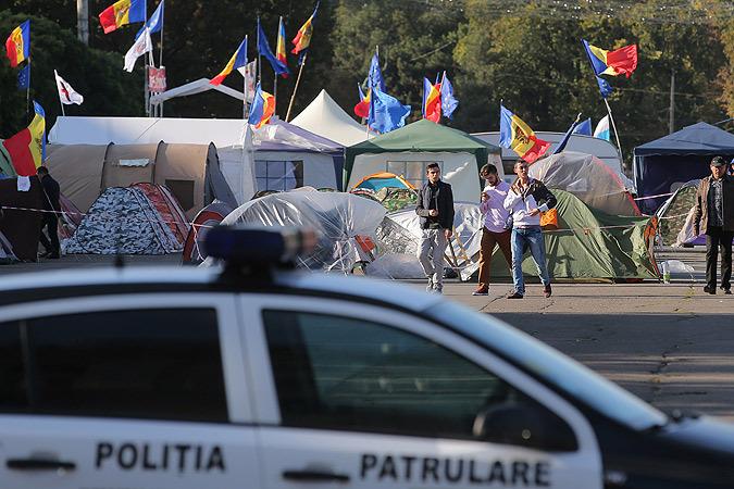 Молдавский майдан прогнал правительство
