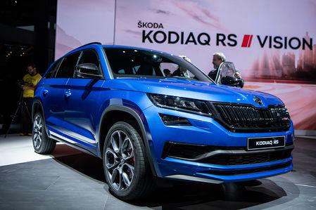 Skoda Kodiaq RS: заряжен на все 100!