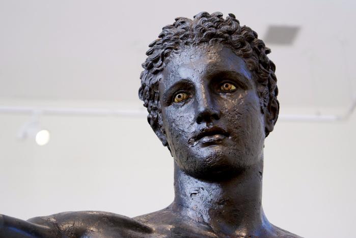 Глаза древнегреческих статуй