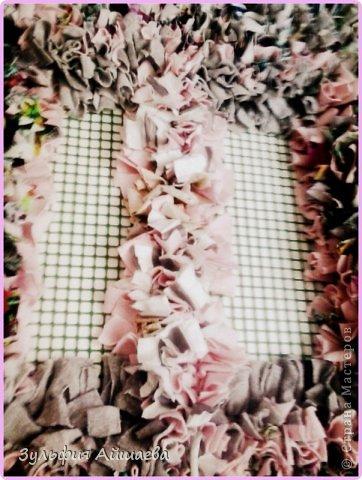 Интерьер Мастер-класс Ткачество ручное Коврик из футболок Сетка Ткань