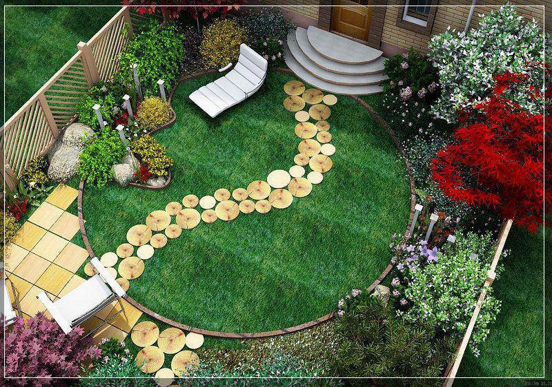 Дизайн маленьких огородных участков