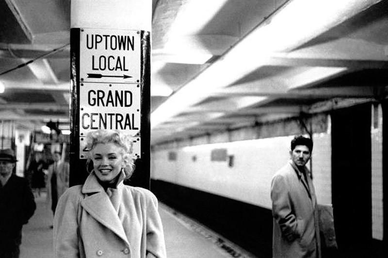 marilyn20 Редкие фото Мэрилин Монро в Нью Йорке