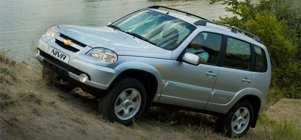 Объемы производства Chevrolet Niva постепенно падают
