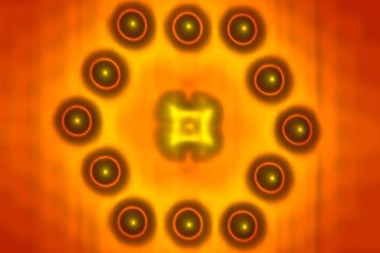 Ученые создали транзистор из одной молекулы и нескольких атомов