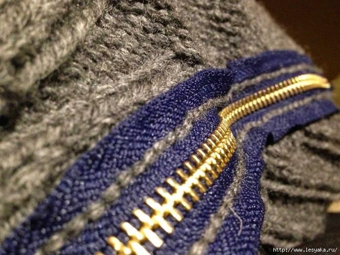 Как красиво и аккуратно вшить молнию в вязаное изделие - безупречный способ