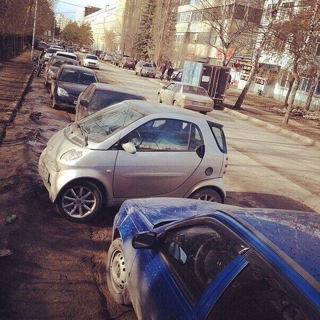 Автоюмор для автомобилистов и пешеходов (37 фото)