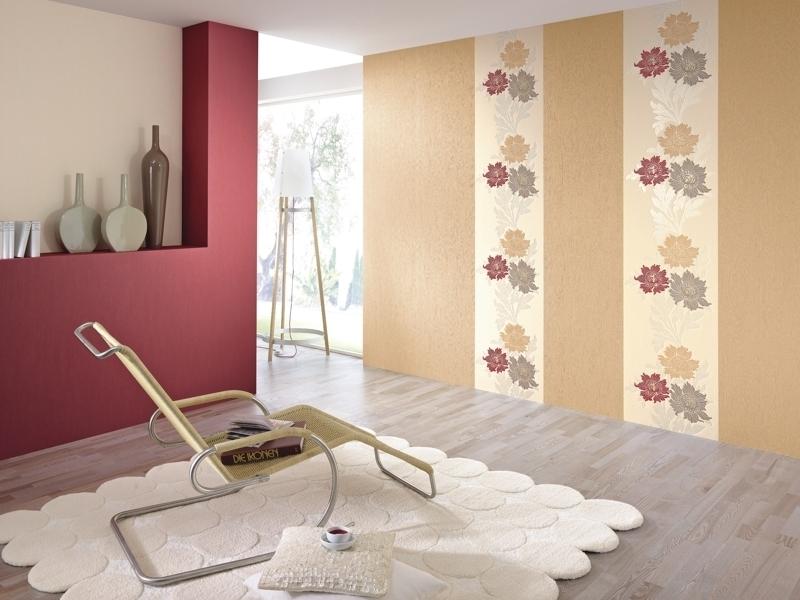 Оклеить комнату двумя видами обоев?Оклеить стены обоями двух видов можно, чередуя полотна между собой