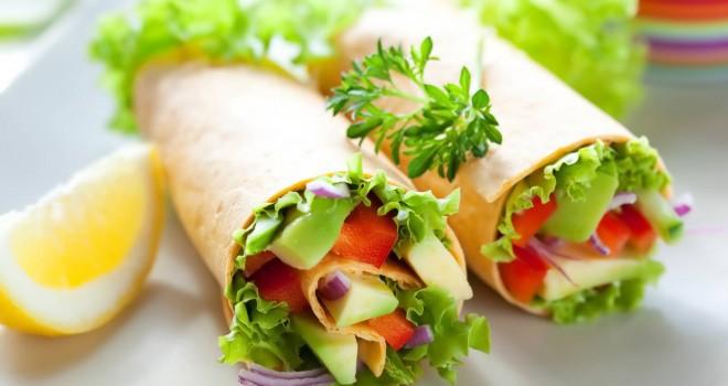 3. Диетический рулет из лаваша и авокадо еда, своими руками, сделай сам