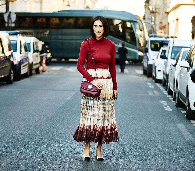 Неделя моды в Париже, весна-лето 2016: street style. Часть 1 (фото 3)