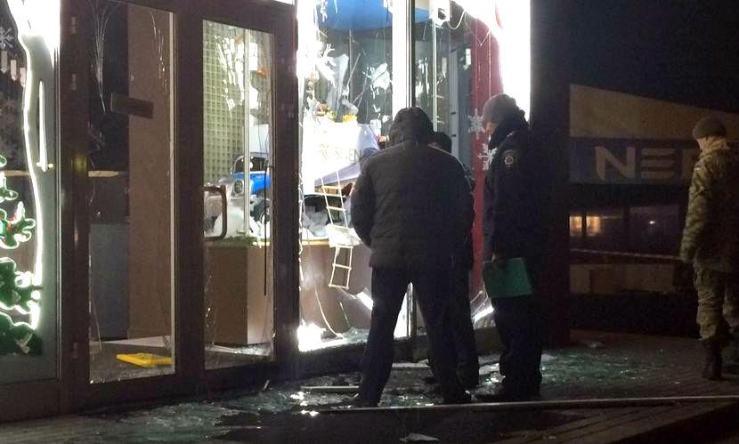 Патриот Украины взорвал магазин Петра Порошенко в Харькове