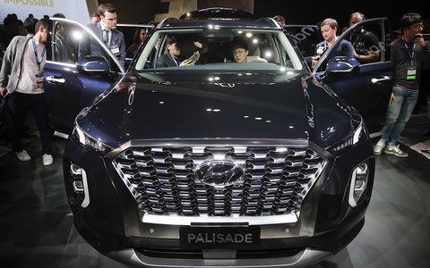 Кроссовер Hyundai Palisade в Лос-Анджелесе: больше некуда