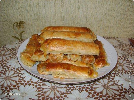 Доброго времени суток,дорогие Мастера и Мастерицы:) Предлагаю вам приготовить необыкновенно лёгкое в исполнении и очень вкусное блюдо-капустные трубочки. фото 17
