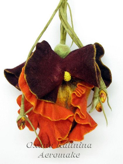 """Женские сумки ручной работы. Ярмарка Мастеров - ручная работа Арт-сумка """"Ирис """"Амира"""". Handmade."""