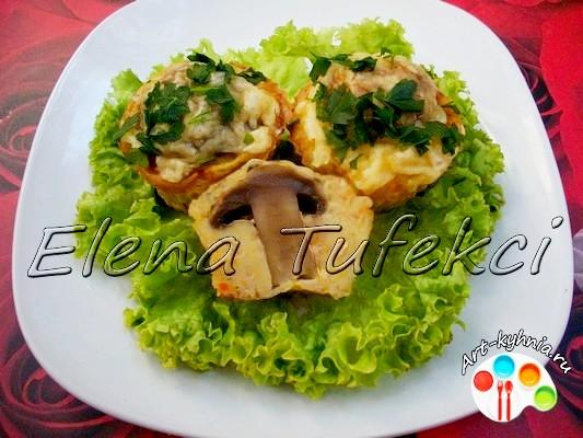 Диетические рецепты из кабачка и грибов