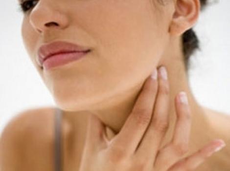 Лечение першения в горле у человека