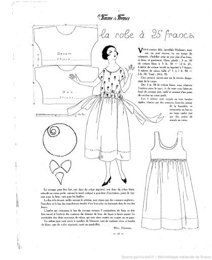 Потрясающие простые выкройки платьев 20-х годов (трафик + сюрприз)