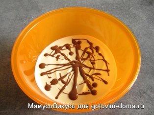 """Десерт """"Долгий поцелуй на ночь"""" фото к рецепту 1"""
