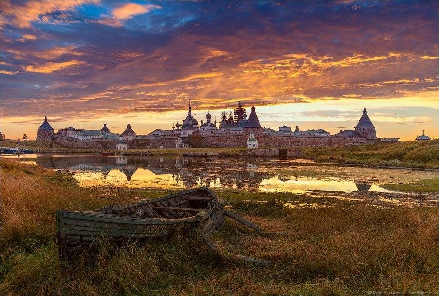 Соловецкий монастырь Русской Православной Церкви.