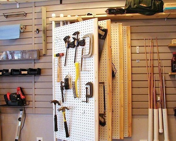 Навесной шкаф в гараж своими руками 85