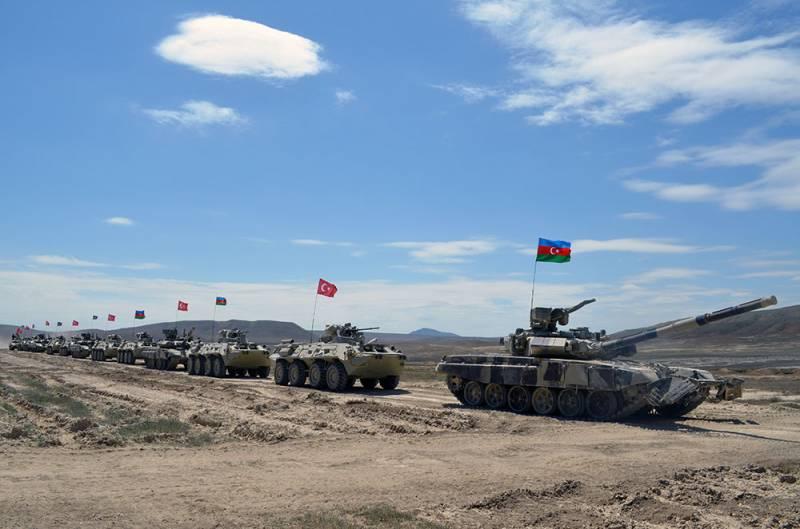 Стартовали учения Турции и Азербайджана