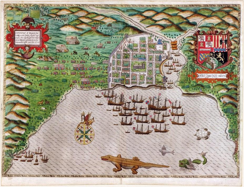 Высадка Дрейка в Сан-Доминго - Лучший пират Её Величества | Военно-исторический портал Warspot.ru