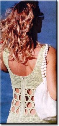 1x1.trans Летнее платье крючком с кольцами