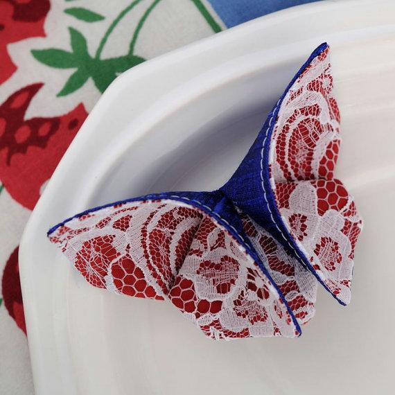 из ткани в технике оригами