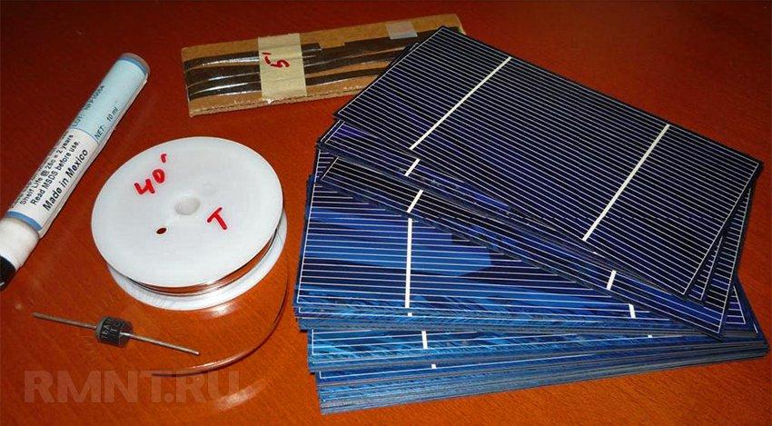 Как сделать солнечный элемент в домашних условиях
