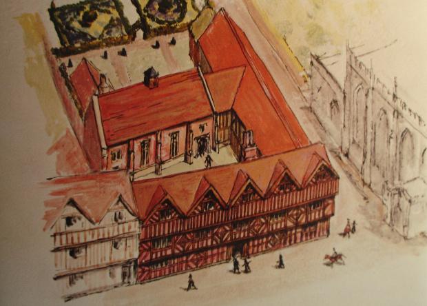 Археологи нашли личную пивоварню Шекспира