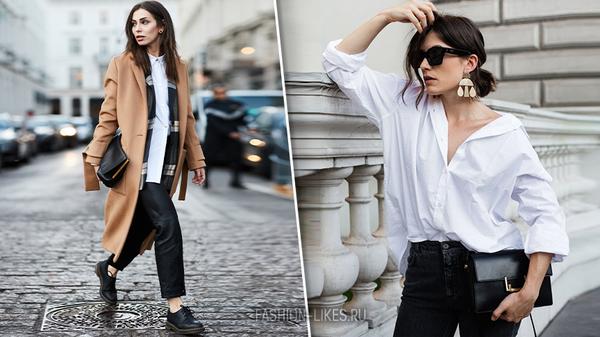 48 примеров, как носить простую рубашку и быть в тренде