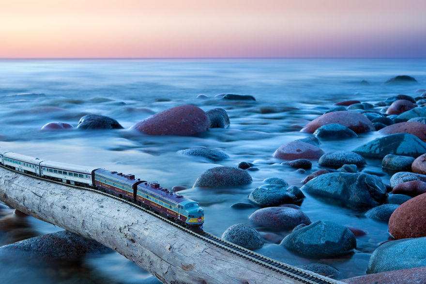 I Took A Vintage Train Across Canada. You Might Notice Something Unusual About The Train…