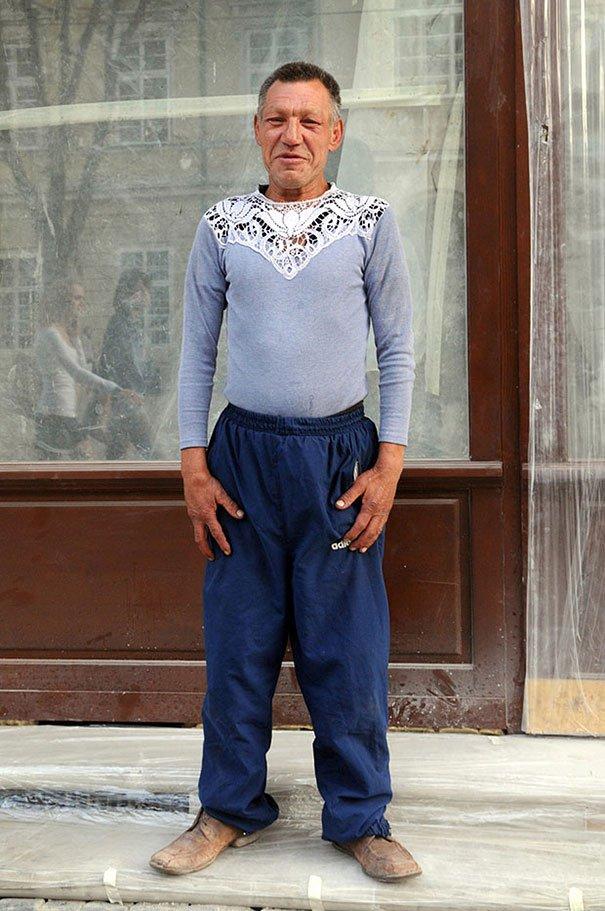 55 летний львовский бомж самый модный бездомный в мире (12)