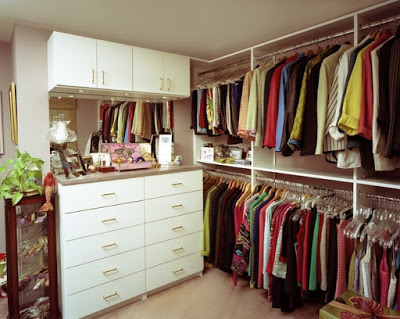 Интерьеры гардеробных комнат