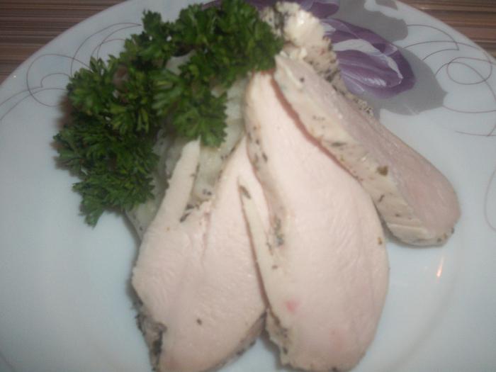 Куриная грудка в молоке (диетическое блюдо)