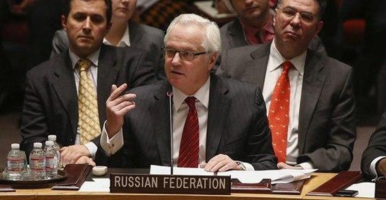 Виталий Чуркин - что делают американские военные на Украине [28/08/2014]
