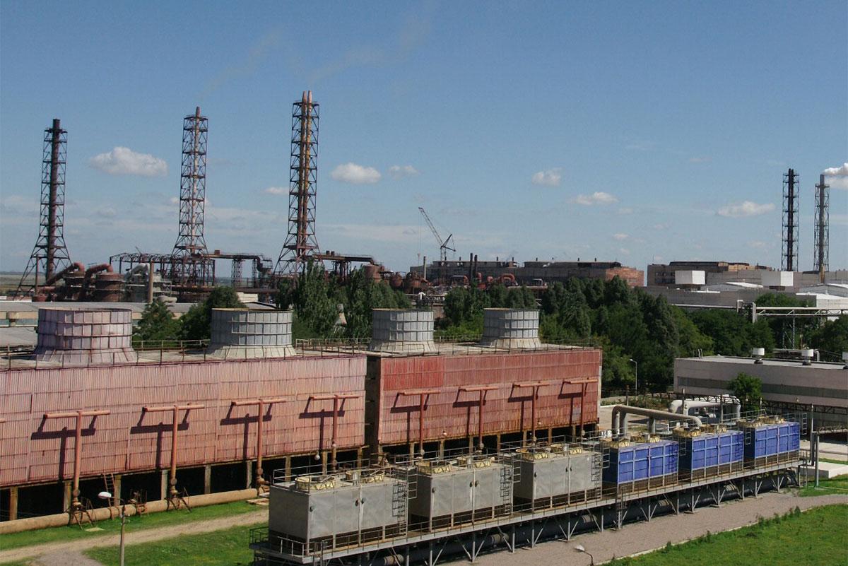 В Армянске возобновил работу завод «Крымский титан»