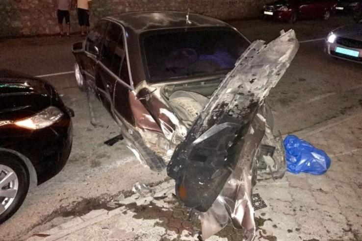 В Крыму пьяный водитель джип…