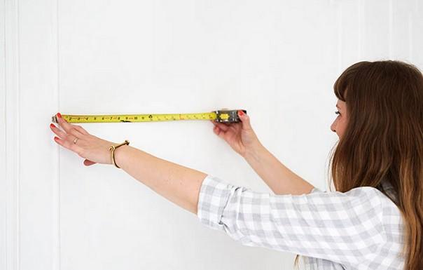 Как обновить стены при помощи ткани