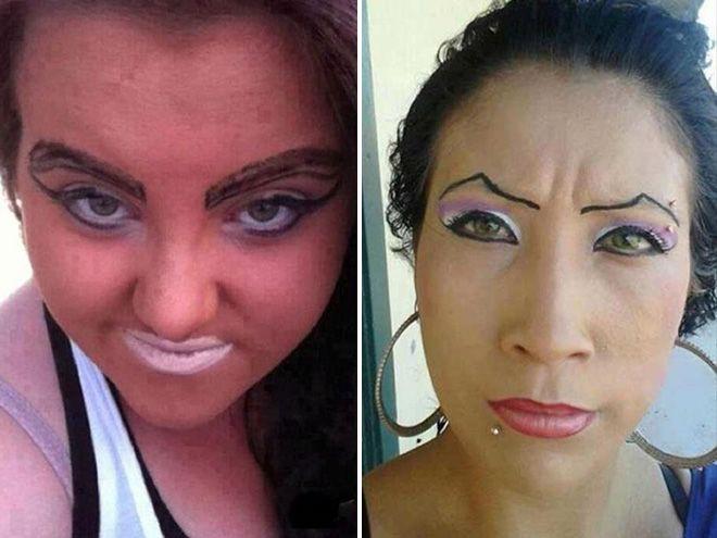Производители косметики плачут по ночам, вспоминая эти фото девушки, косметика