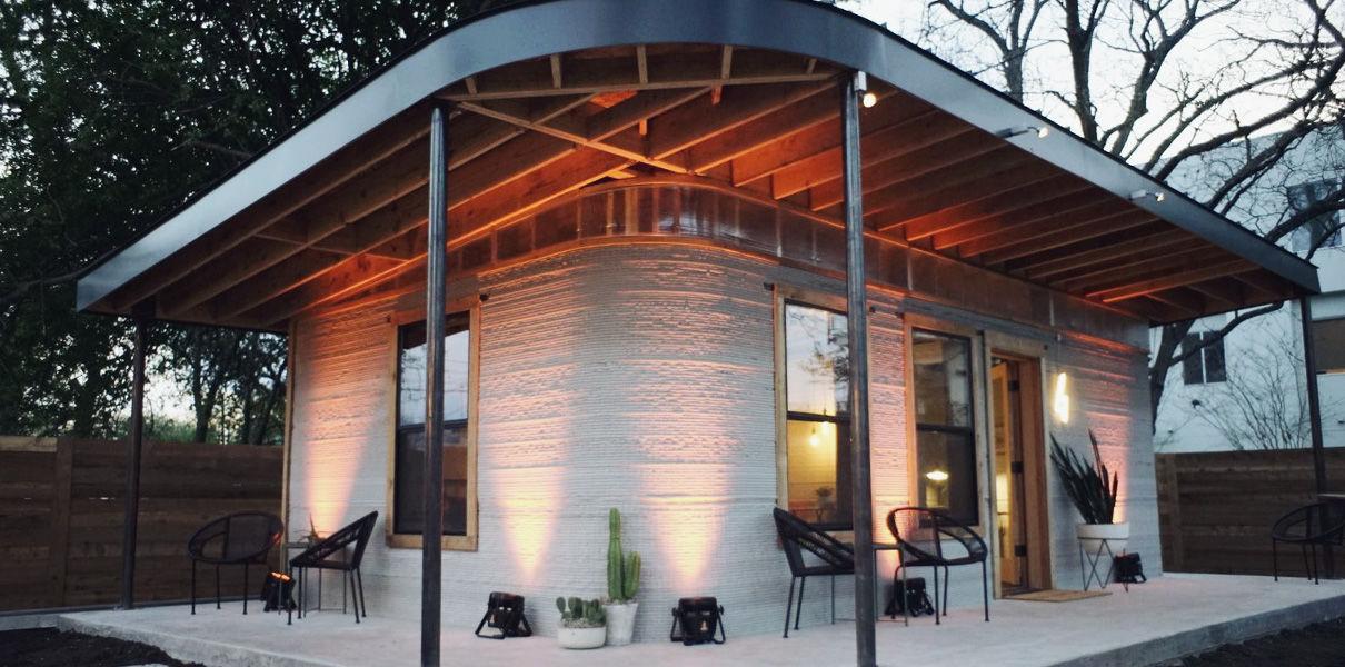 Представлена технология 3D-печати домов за 24 часа