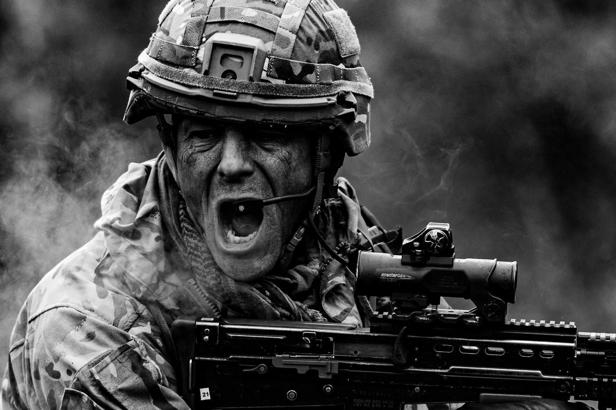 Лучшие работы конкурса британской военной фотографии «British Army Photographer of the Year»