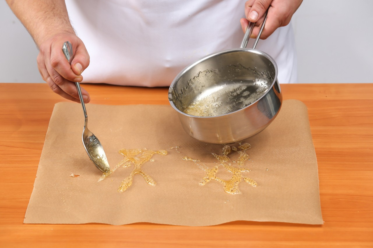Как сделать карамель тонкие