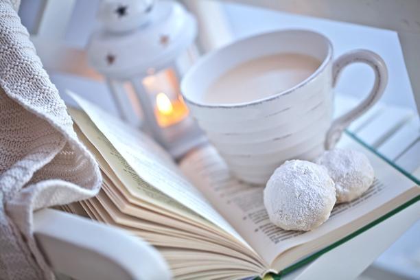 Чай книга и пледы