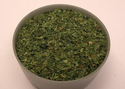 Зелень сушеная в духовке