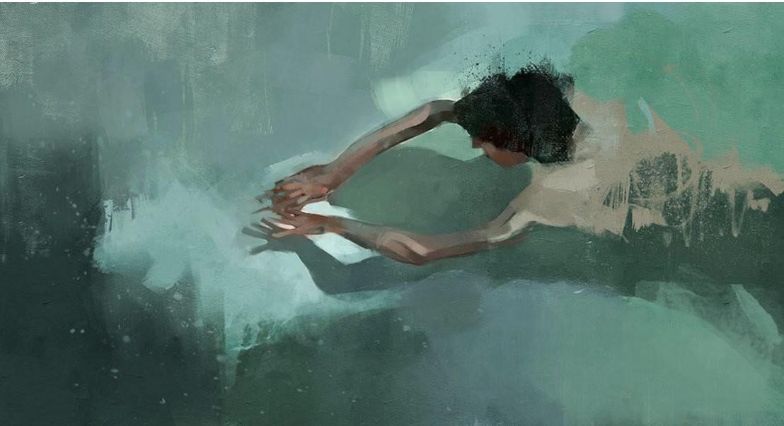Пловцы Педро Ково
