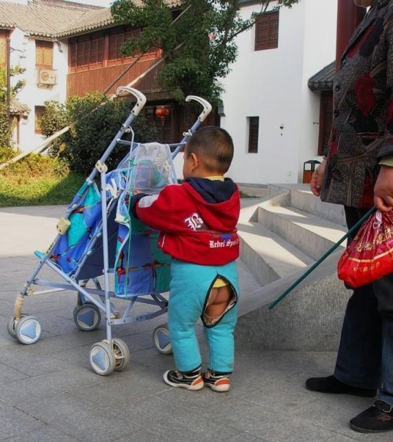 Китайские ребятишки с дыркой в штанах или что мы знаем о «кайданку»