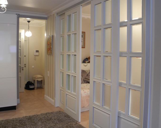 Раздвижные двери в квартире дизайн