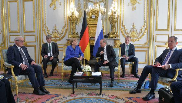 Увидеть Путина. И поговорить... в Париже