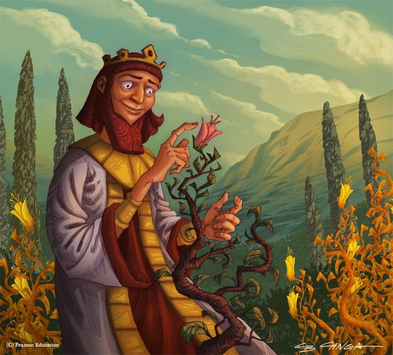 Миф о Мидасе:Иллюстрации и экранизации